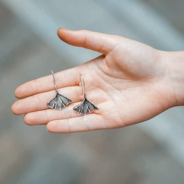 Ginkgo Leaves Earrings